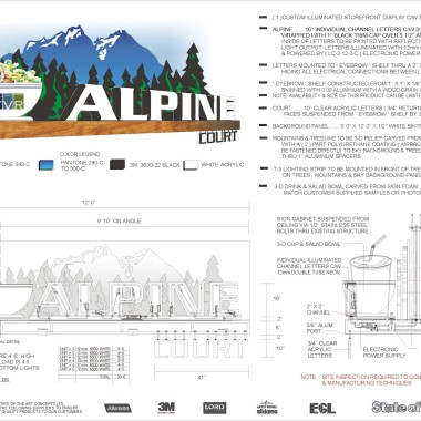 Alpine Court Engineered Drawing