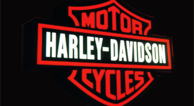 Harley Davidson Neon