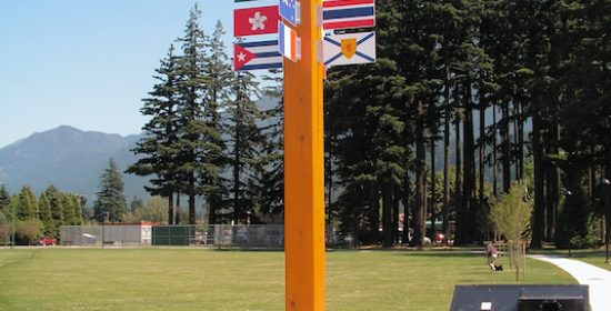 Hope, BC Flags