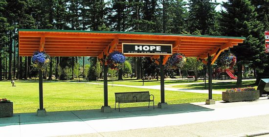 Hope, BC Bus Shelter