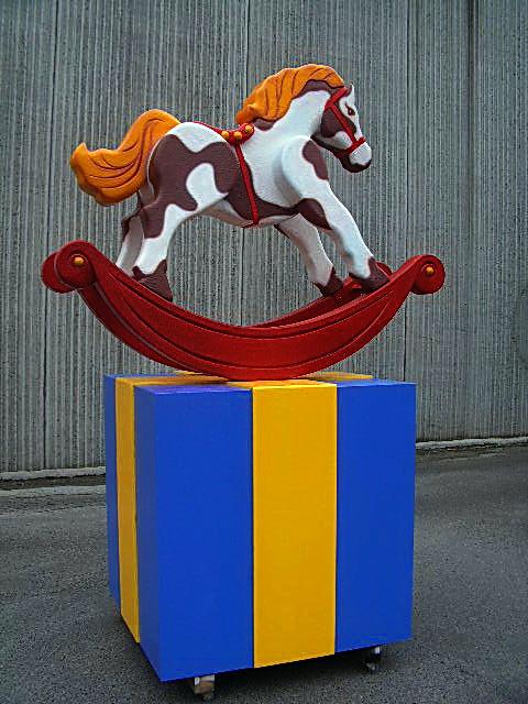 Six Flags Horse
