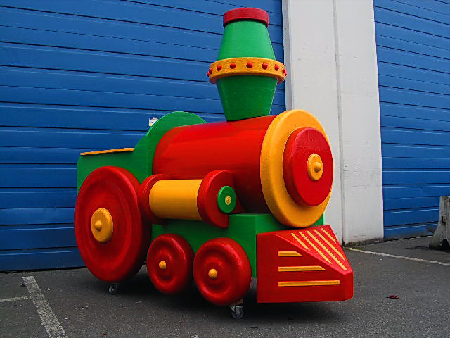 Six Flags Train