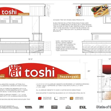 Toshi Engineered Drawings