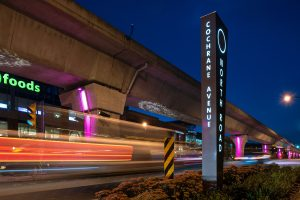 City of Coquitlam signage. Photo by Brett Ryan Studios.