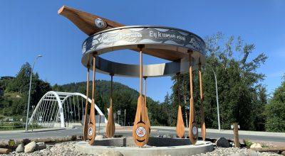 Vedder Roundabout Public Art, Chilliwack